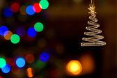 Christmas Ornament And Lights — Stock Photo
