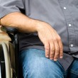Stock Photo: Disabled MIn Wheelchair