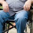 Paraplegic In Wheelchair — Stock Photo
