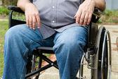 Paraplegic In Wheelchair — Stock Photo