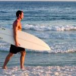 ������, ������: Surfer Walking Beach