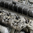 Stock Photo: Old engine, closeup