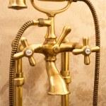Retro style mixer tap — Stock Photo