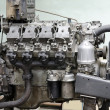 Stock Photo: Outdated diesel engine