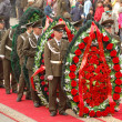Wreath laying ceremony May 9 — Stock Photo