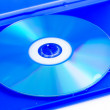 Compact disc in box — Stock Photo