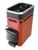 Sauna iron stove — Stock Photo