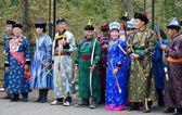 Mongolian archers — Stock Photo