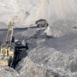 Coal output — Stockfoto