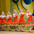 Folk Russian dance — Stock Photo