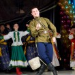 Russian folk dance — Stock Photo #8018938
