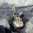 Foto Stock: Coal output
