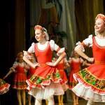 Folk Russian dance — Stock Photo