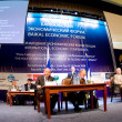 Baikal economical forum — Stock Photo