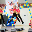 Aerobics and fitness — Stock Photo