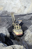 Coal output — Stock Photo