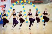 Aerobics and fitness — Stock Photo