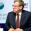 Minister of finance Kudrin — Stock Photo