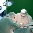 Real brain surgery — Stock Photo