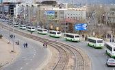 Buss kolumn — Stockfoto