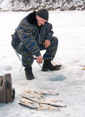 The 5th Baikal Fishing — Stock Photo