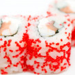 Stock Photo: Sushi rolls california, macro