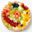 Fruit and berry cake - Stok fotoğraf
