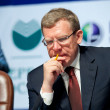 Former minister of finance Kudrin — Foto Stock