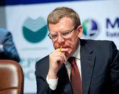 Former minister of finance Kudrin — Stock Photo