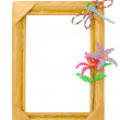 Handmade frame - Stock Photo