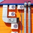 Ventilation and air conditioners — Stock Photo