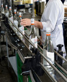 Alcohol production — Stock Photo