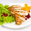 Grilled chicken breast — Stock Photo #9019607