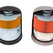 Stock Photo: Oil filters