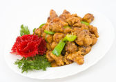 Chinese food - caramelized pork — Stock Photo
