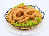 Chinese food - calamari — Stock Photo