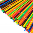 Stock Photo: Lots of drinking straws