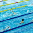 Swimming race — Stock Photo