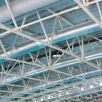 Stadium air ventilation — Stock Photo
