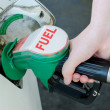Stock Photo: Car fueling