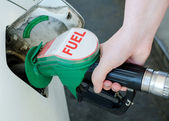 Car fueling — Stock Photo