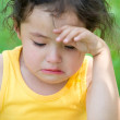 Stock Photo: Crying little girl