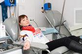 Blood donor — Stockfoto