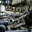 Stock Photo: Outdated gasoline engine