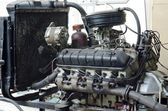 Outdated retro engine — Stock Photo