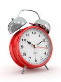 Ten o'clock. Old-fashioned alarm clock. 3d — ストック写真