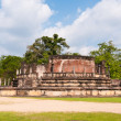 Ancient city Pollonnaruwa, Sri Lanka — Stock Photo