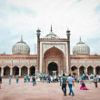 Stock Photo: JamMasjid, India's largest mosque
