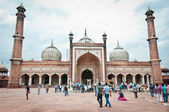 Jama Masjid, India's largest mosque — Stock Photo