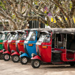 Tuk-tuk is a popular asian transport as taxi. — Stock Photo #9764983